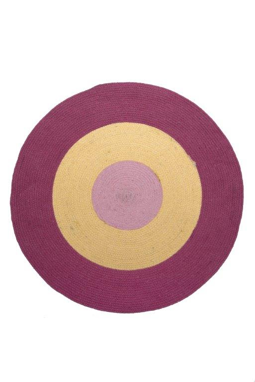 Χαλάκι Bαμβακερό 140εκ. Tricolore Pink Palamaiki (Ύφασμα: Βαμβάκι 100%) – Palamaiki – 5205857225650