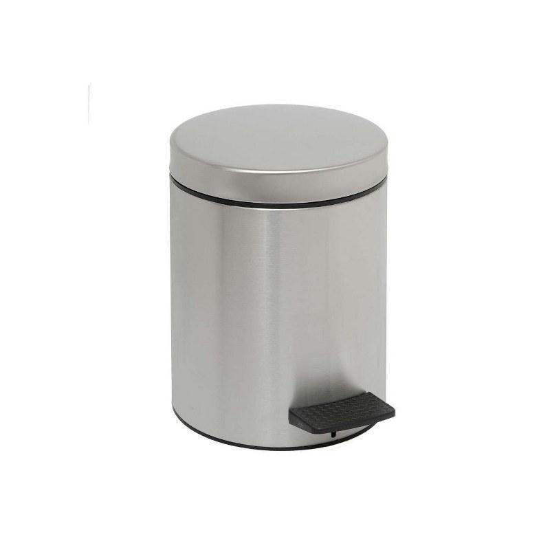 Κάδος Απορριμμάτων Brushed Inox 8lt Pam & Co 23×32εκ. 08-502-011 – Pam & Co – 08-502-011
