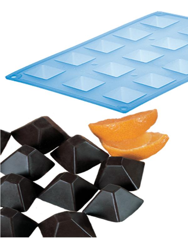 Φόρμα σιλικόνης ΠΥΡΑΜΙΔΑ 15Θ. - OEM - RS_56513.00.13 κουζινα είδη ζαχαροπλαστικής