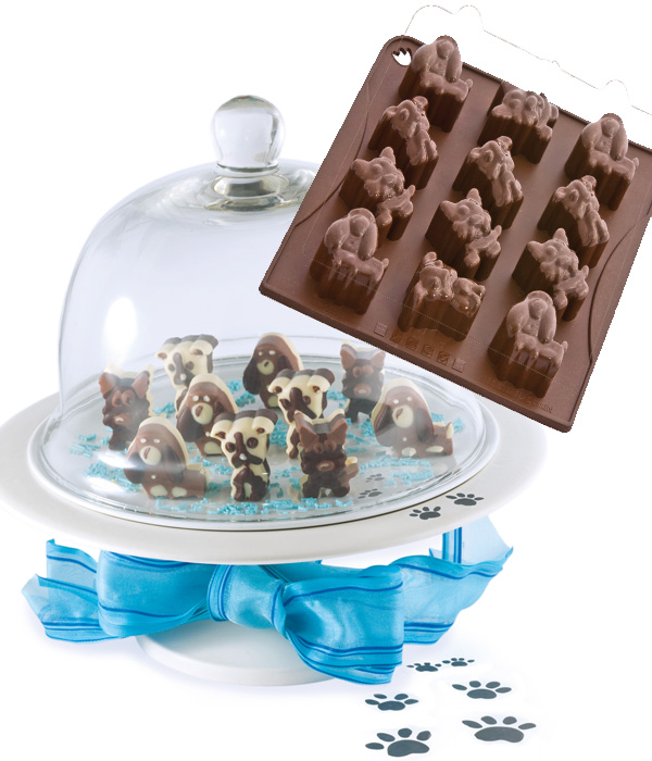 Φόρμα σιλικόνης σκυλάκι CHOCODOGGY - OEM - RS_56513.26.DOGGY κουζινα είδη ζαχαροπλαστικής