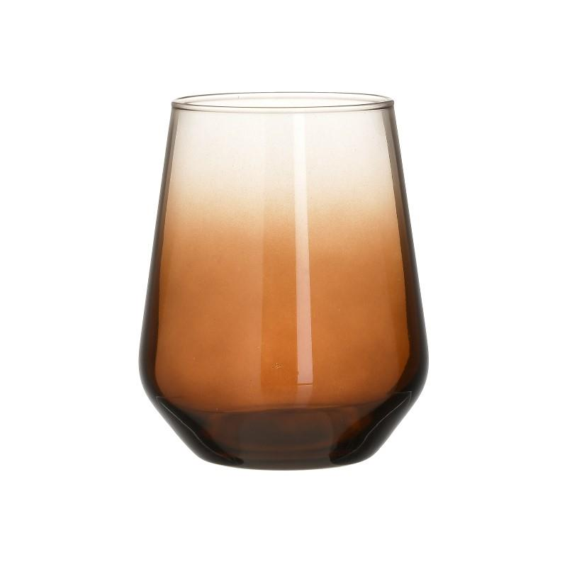 Σετ Ποτήρια Ουίσκι 6τμχ CLICK 425ml 6-60-961-0050 (Υλικό: Γυαλί, Χρώμα: Μελί) – CLICK – 6-60-961-0050