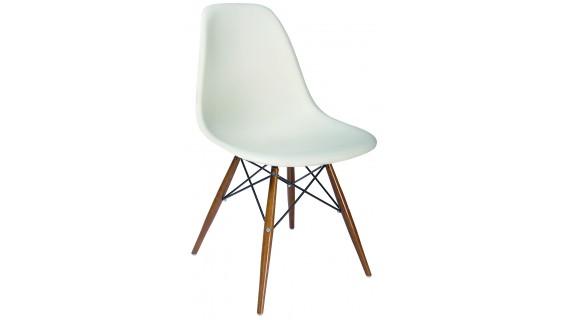 Καρέκλα SPRING WOOD λευκή – OEM – 1-SPRING-WOOD/PC_leuko
