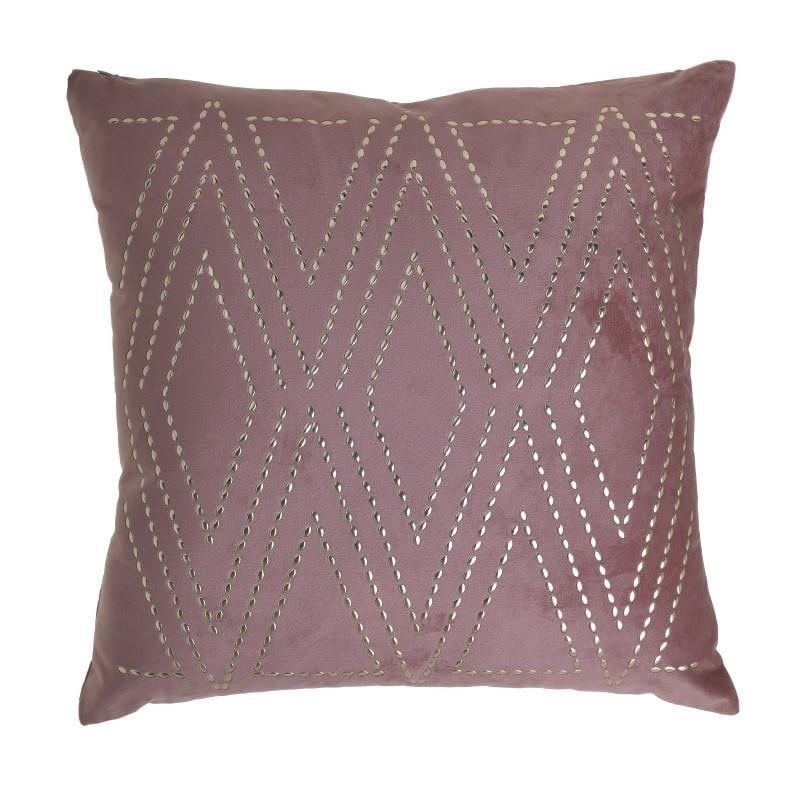 Διακοσμητικό Μαξιλάρι Βελούδινο inart 45×45εκ. 3-40-865-0229 (Ύφασμα: Βελούδο, Χρώμα: Ροζ) – inart – 3-40-865-0229