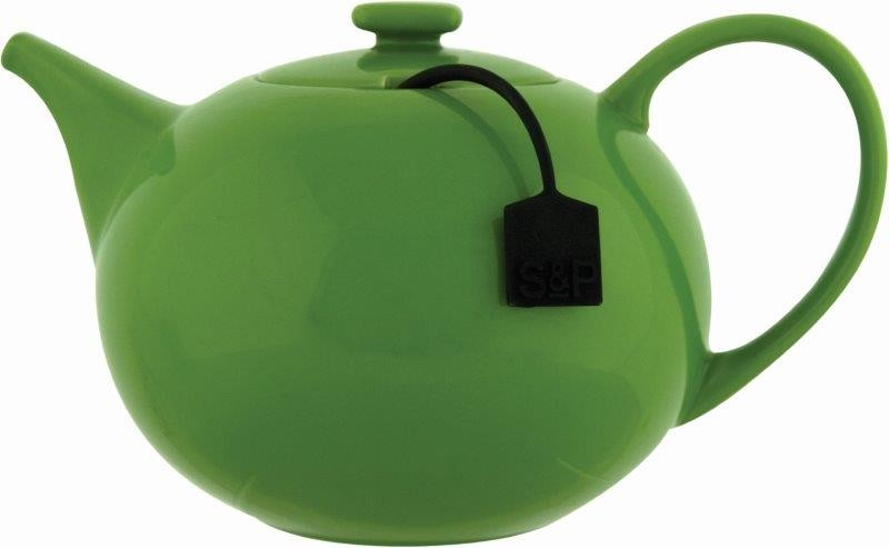 Σετ Τσαγιέρα Με Φίλτρο Κεραμική 1500ml My Tea S&P BAM36834 (Υλικό: Κεραμικό, Χρώμα: Πράσινο ) – Salt & Pepper – BAM36834