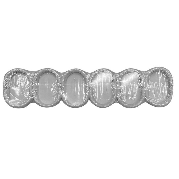 Σετ 12τμχ Κρίκοι Κουρτίνας Πλαστικοί Homie 81-838 (Υλικό: Πλαστικό, Χρώμα: Λευκό) – Homie – 81-838