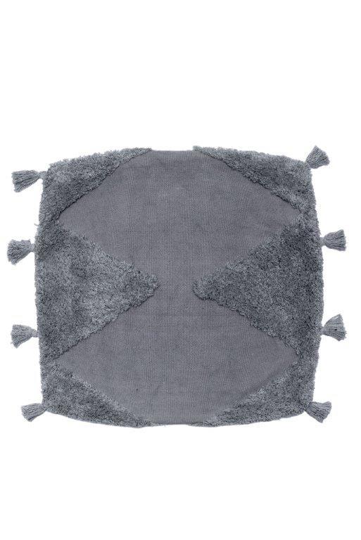 Διακοσμητική Μαξιλαροθήκη Βαμβακερή 45×45εκ. Alfie Grey Palamaiki (Ύφασμα: Βαμβάκι 100%, Χρώμα: Γκρι) – Palamaiki – 5205857225797