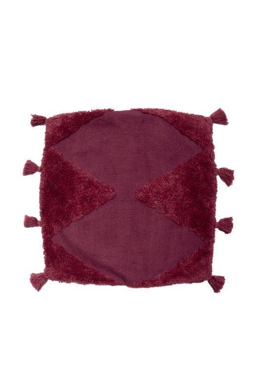 Διακοσμητική Μαξιλαροθήκη Βαμβακερή 45×45εκ. Alfie Mauve Palamaiki (Ύφασμα: Βαμβάκι 100%) – Palamaiki – 5205857225803