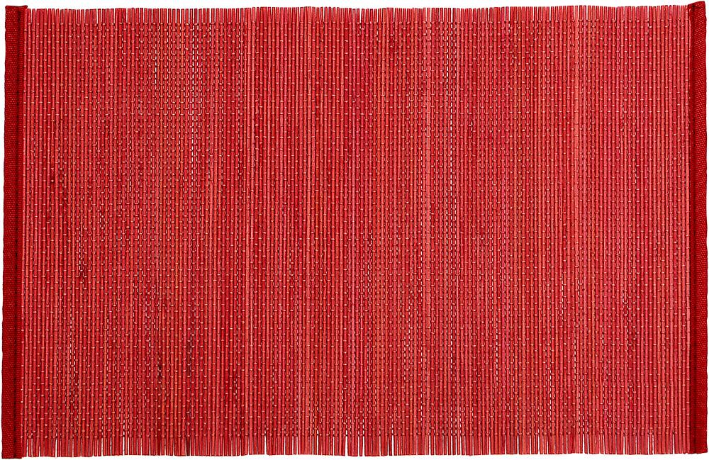 Σετ Σουπλά Bamboo Κόκκινο – OEM – 4-ANJ054D
