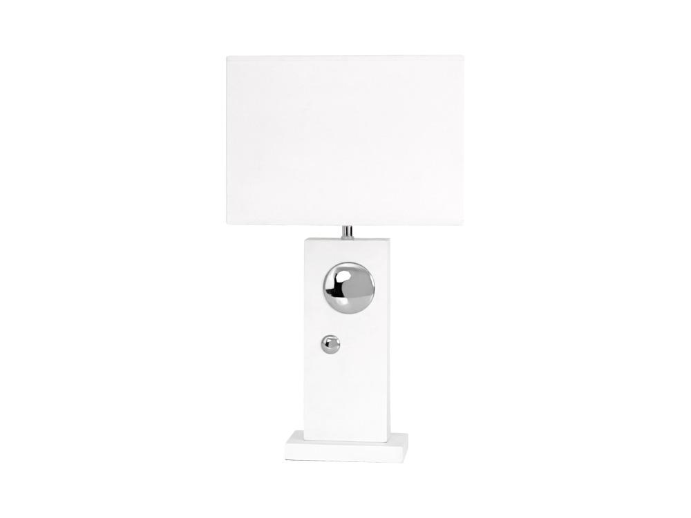 Φωτιστικό Επιτραπέζιο Λευκό S&P - Salt & Pepper - BAM35025 διακοσμηση υπνοδωμάτιο φωτιστικά