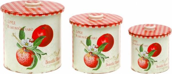 Βάζο Ακρυλικό Σετ 3τμχ μήλο – OEM – 4-BIG6312/A