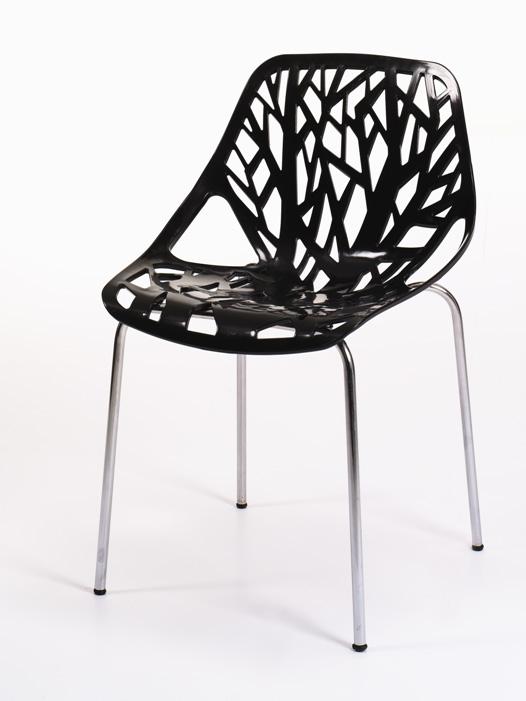 Καρέκλα Branch Μαύρη – OEM – 1-BRANCH_mauri