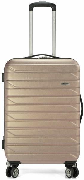 Σετ Βαλίτσες 3τμχ Τρόλευ με 4 Ρόδες benzi 4877 Gold - benzi - BZ-4877/3-gold ειδη οικ  χρησησ βαλίτσες   τσάντες ταξιδίου