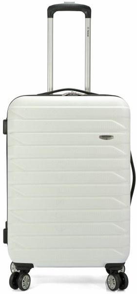 Σετ Βαλίτσες 3τμχ Τρόλευ με 4 Ρόδες benzi 4877 White - benzi - BZ-4877/3-white καλοκαιρινα βαλίτσες   τσάντες ταξιδίου