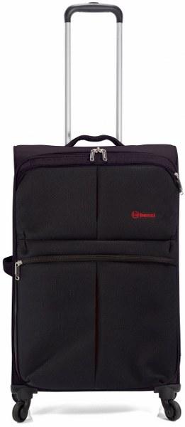 Σετ Βαλίτσες 3τμχ Τρόλευ με 4 Ρόδες benzi 4895 Black - benzi - BZ-4895/3-black καλοκαιρινα βαλίτσες   τσάντες ταξιδίου