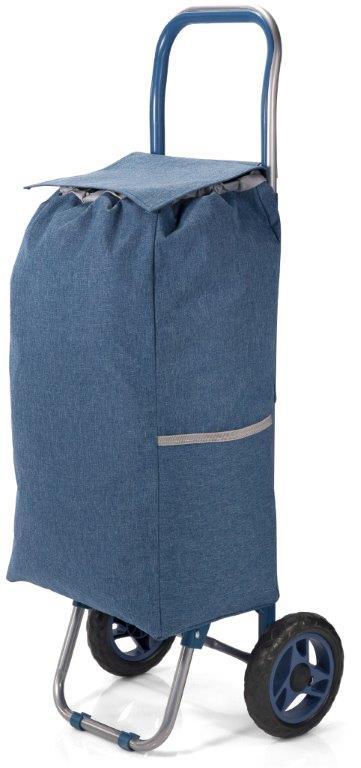 Καρότσι Λαΐκής Polyester 31x20x56εκ. benzi Blue (Ύφασμα: Polyester, Χρώμα: Μπλε) – benzi – BZ-5584-blue