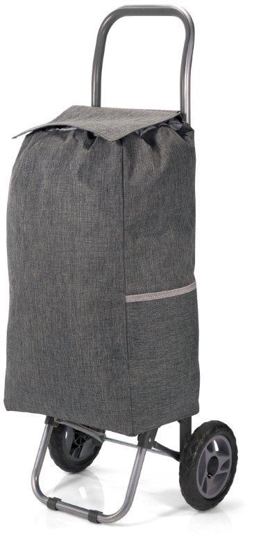 Καρότσι Λαΐκής Polyester 31x20x56εκ. benzi Dark Grey (Ύφασμα: Polyester, Χρώμα: Γκρι) – benzi – BZ-5584-dark-grey