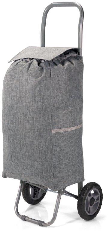 Καρότσι Λαΐκής Polyester 31x20x56εκ. benzi Grey (Ύφασμα: Polyester, Χρώμα: Γκρι) – benzi – BZ-5584-grey
