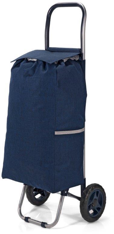 Καρότσι Λαΐκής Polyester 31x20x56εκ. benzi Dark Blue (Ύφασμα: Polyester, Χρώμα: Μπλε) – benzi – BZ-5584-dark-blue