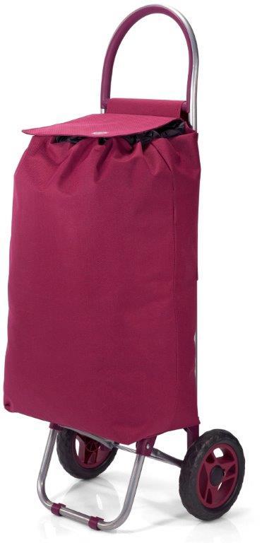 Καρότσι Λαΐκής Polyester 32x20x56εκ. benzi Burgundy (Ύφασμα: Polyester, Χρώμα: Μπορντώ ) – benzi – BZ-5585-burgundy