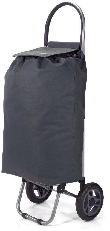 Καρότσι Λαΐκής Polyester 32x20x56εκ. benzi Grey (Ύφασμα: Polyester, Χρώμα: Γκρι) – benzi – BZ-5585-grey