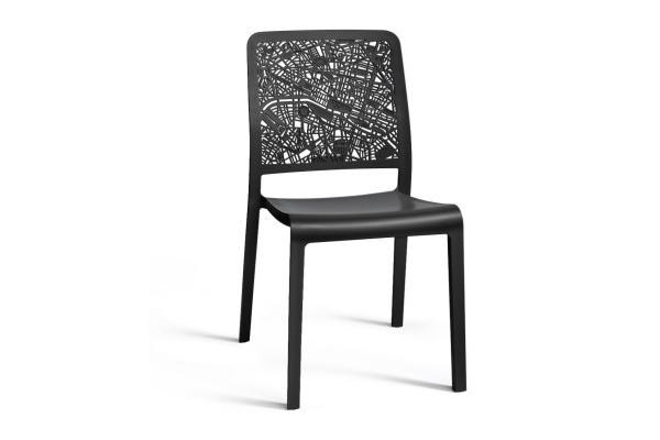 Καρέκλα Εξωτερικού Χώρου City Anthracite – Allibert – city-k-chair-anthracite