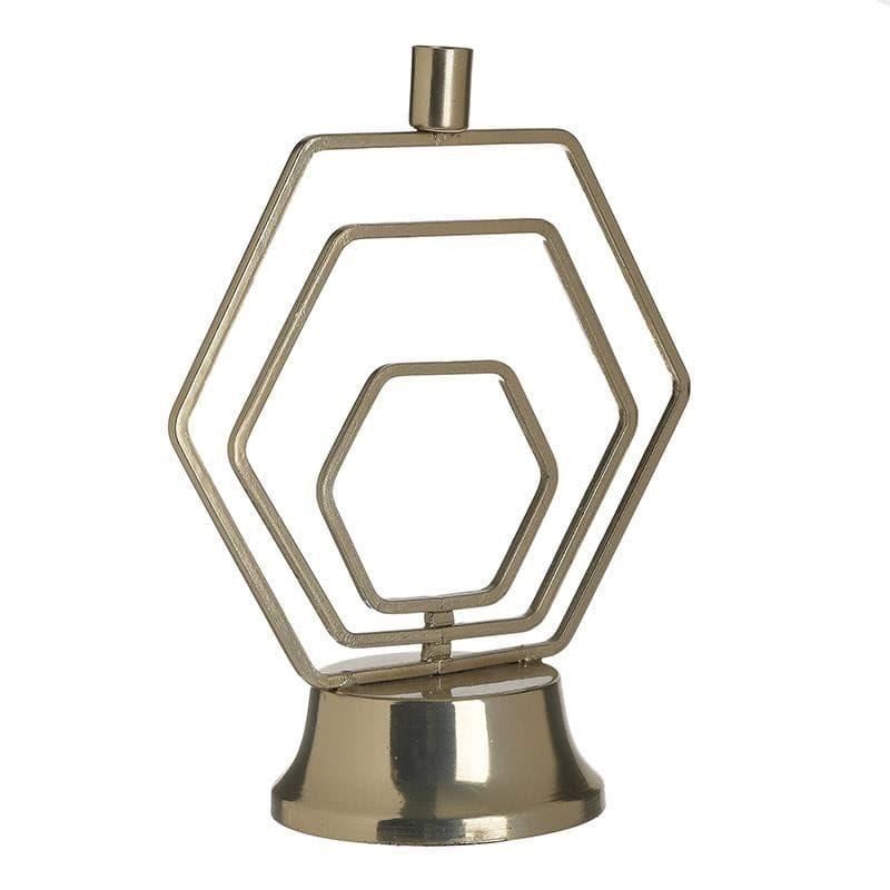 Κηροπήγιο Μεταλλικό inart 24x12x29εκ. 3-70-983-0017 (Υλικό: Μεταλλικό, Χρώμα: Χρυσό ) – inart – 3-70-983-0017