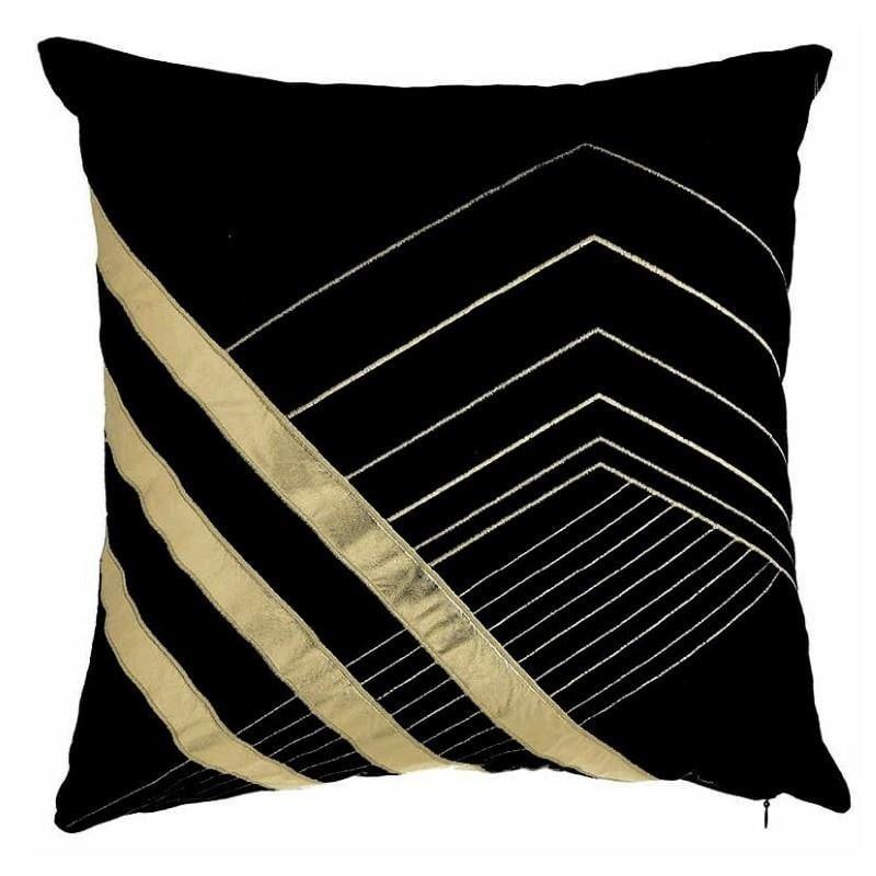 Διακοσμητικό Μαξιλάρι Υφασμάτινο inart 45×45εκ. 3-40-865-0241 (Χρώμα: Μαύρο) – inart – 3-40-865-0241