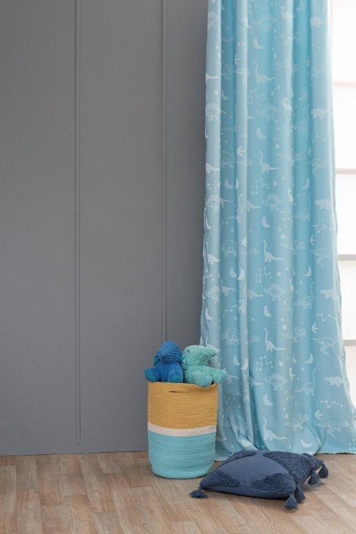 Κουρτίνα Φωσφοριζέ Polyester 140×260εκ. Flit Palamaiki (Ύφασμα: Polyester) – Palamaiki – 5205857231699