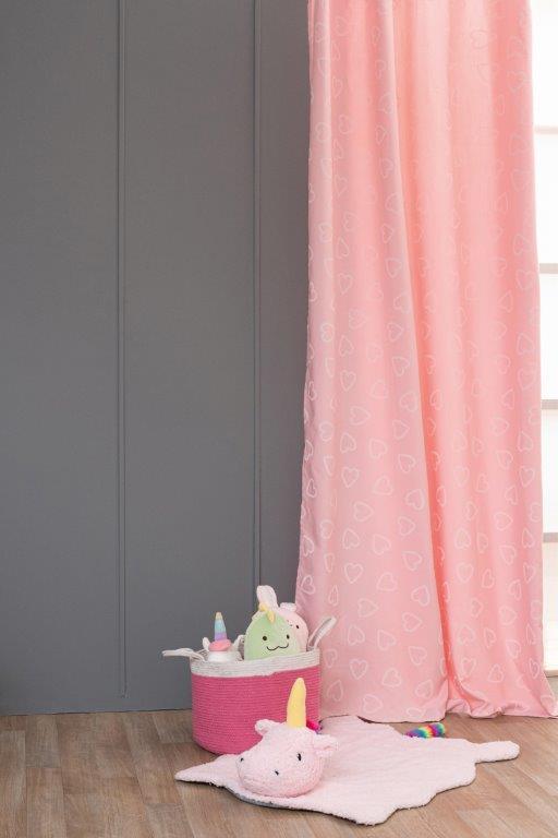 Κουρτίνα Φωσφοριζέ Polyester 140×260εκ. Folia Palamaiki (Ύφασμα: Polyester) – Palamaiki – 5205857231705
