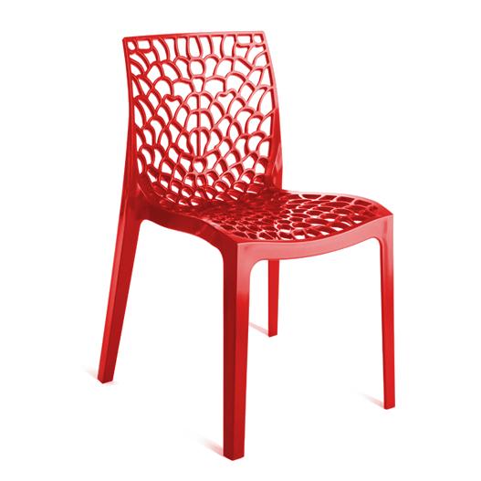 Καρέκλα Πολυπροπυλενίου Gruvyer Red - OEM - 13-gruvyer-red