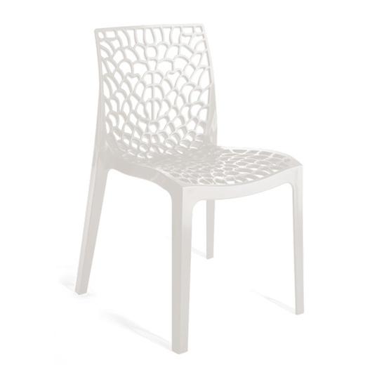 Καρέκλα Πολυπροπυλενίου Gruvyer White – OEM – 13-gruvyer-white