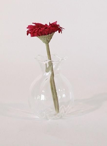 Βάζο Γυάλινο Διάφανο Μικρό - Sila Stefanidis - 18-Ε3-7805-mikro διακοσμηση σαλόνι βάζα