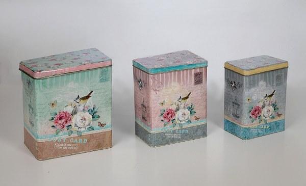 Κουτί Μεταλλικό «Πουλάκι» Μικρό – Sila Stefanidis – 18-G9-1005C-mikro