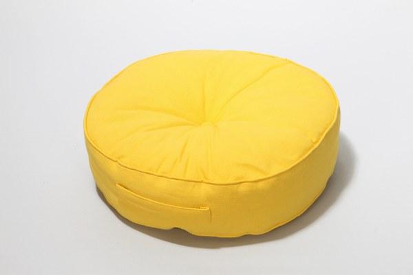 Μαξιλάρι Στρογγυλό Κίτρινο – Sila Stefanidis – 18-c5-0218-kitrino