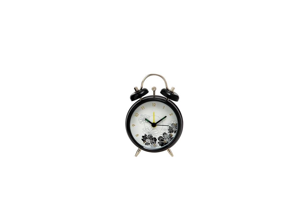 Ρολόι - Ξυπνητήρι Μαύρο S - EVE - 4-DAN9408_4B διακοσμηση κουζίνα ρολόγια