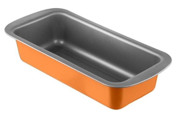 Φόρμα Κέικ Αντικολλητική Χά 30x13x6,5εκ. Colors PAL 050.000384-Orange (Υλικό: Χάλυβας ) – PAL – 050.000384-orange