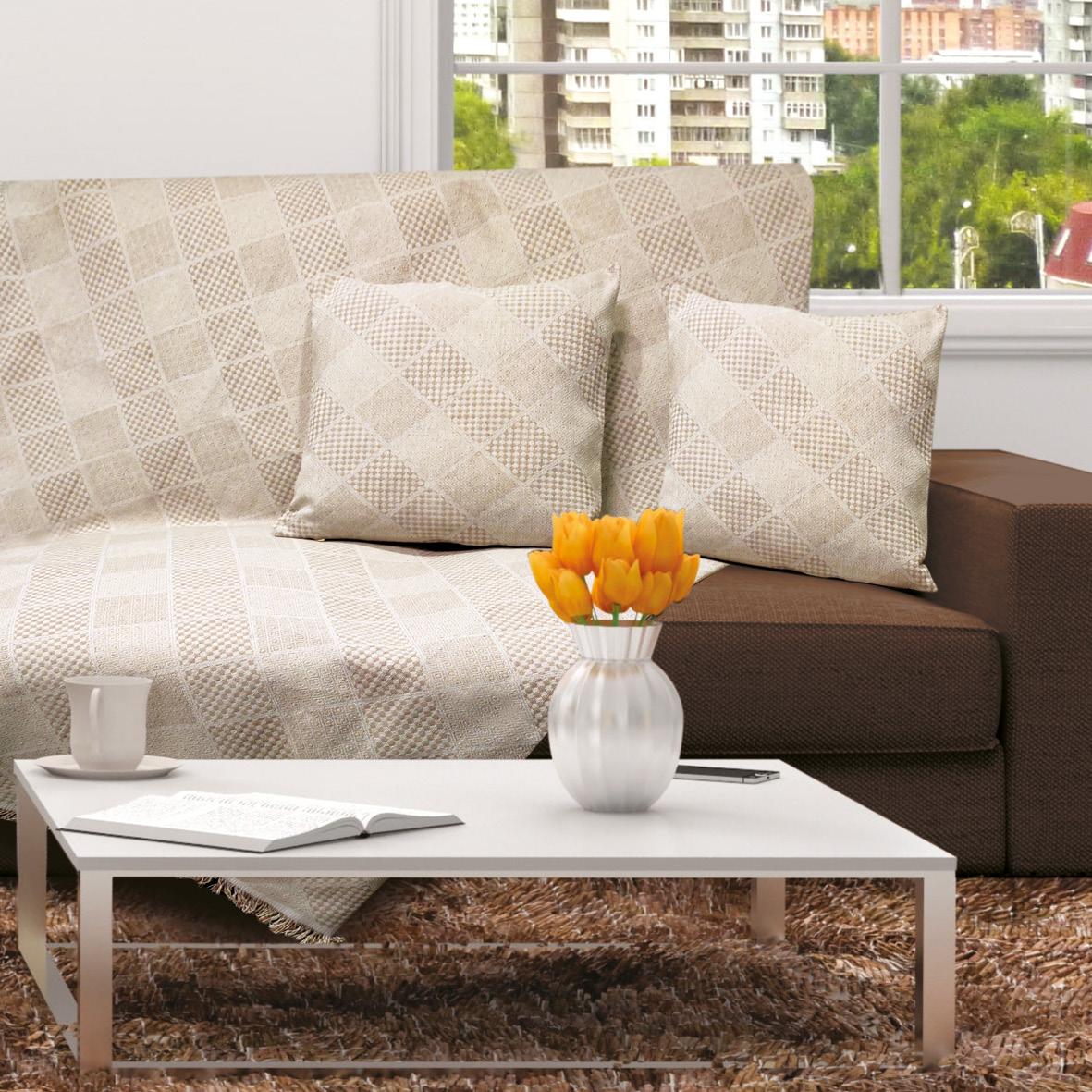 Διακοσμητική Μαξιλαροθήκη Polycotton 40×40εκ. Orlando Beige Sb home (Ύφασμα: 80% Cotton – 20% Polyester, Χρώμα: Μπεζ) – Sb home – 5206864061712