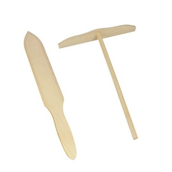 Σετ 2 Εργαλεία Ξύλινα Για Κρέπες Metaltex – METALTEX – 16-579701