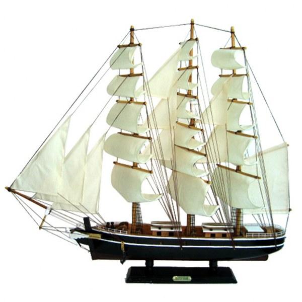 Καράβι Ξύλινο 72x12x68εκ. – Xmas fest – 93-1876