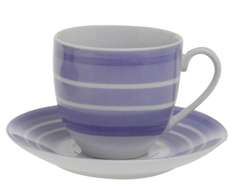 Φλυτζάνια Καφέ Σετ 6τμχ Πορσελάνης 12εκ. CXI183/02A (Υλικό: Πορσελάνη Decore) - EVE - 4-CXI183/02A