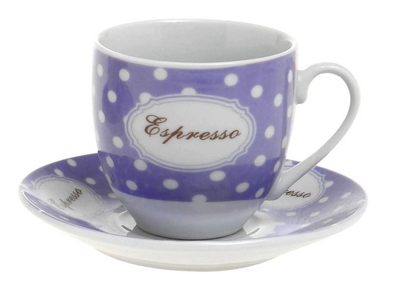 Φλυτζάνια Καφέ Σετ 6τμχ Πορσελάνης 12εκ. CXI183/03C (Υλικό: Πορσελάνη Decore) – EVE – 4-CXI183/03C
