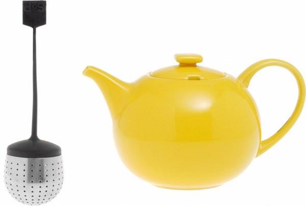 Σετ Τσαγιέρα Κίτρινη Και Φίλτρο S&P My tea (Υλικό: Κεραμικό) – Salt & Pepper – BAM36832