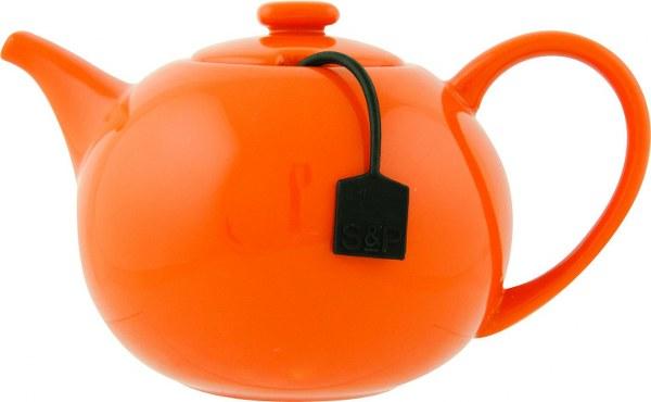 Σετ Τσαγιέρα Πορτοκαλί Και Φίλτρο S&P My Tea (Υλικό: Κεραμικό) – Salt & Pepper – BAM37943