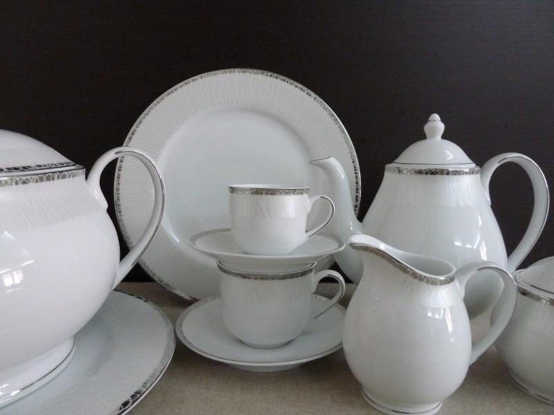 Σερβίτσιο Πορσελάνης 20 Τεμαχίων - AB - 6-590-20 κουζινα πιάτα   σερβίτσια