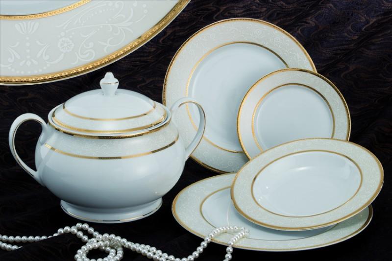 Σερβίτσιο Πορσελάνης 40 Τεμαχίων - AB - 6-219-40 κουζινα πιάτα   σερβίτσια
