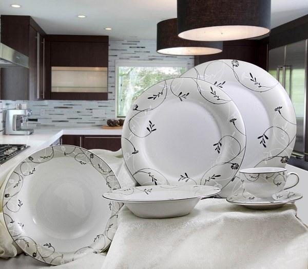 Σερβίτσιο Πορσελάνης 40 Τεμαχίων - AB - 6-297-40 κουζινα πιάτα   σερβίτσια