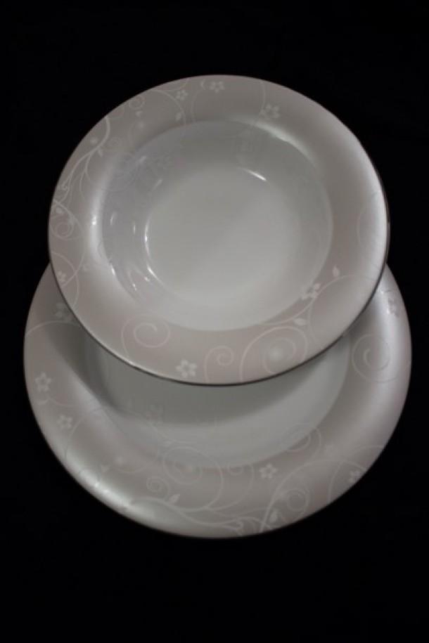 Σερβίτσιο Πορσελάνης 40 Τεμαχίων - AB - 6-300-40 κουζινα πιάτα   σερβίτσια