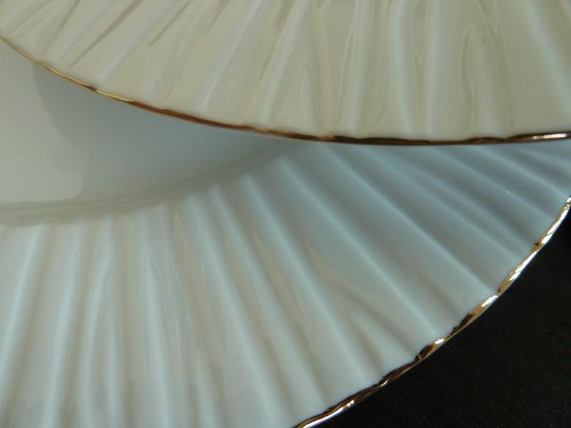 Σερβίτσιο Πορσελάνης 40 Τεμαχίων - AB - 6-683-40-gold κουζινα πιάτα   σερβίτσια