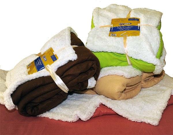 Κουβέρτα Μονή Fleece Σέρπα Διπλής Όψεως Λαχανί - OEM - fleece-serpa-k1-laxani λευκα ειδη υπνοδωμάτιο κουβέρτες μονές   ημίδιπλες