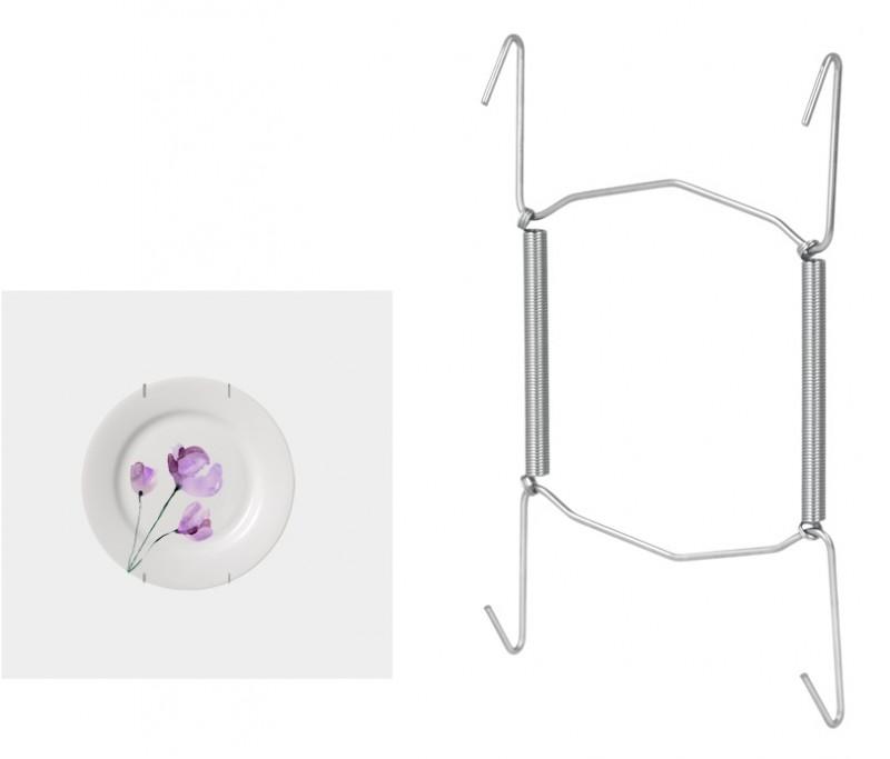 Στήριγμα Αναρτήσεως Πιάτων Τοίχου 18-26εκ. Metaltex – METALTEX – 209002